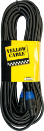 Yellow Cable - Speakon/speakon - 20m