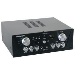 SkyTronicKaraoke Amplifier FM/USB/SD Zwart