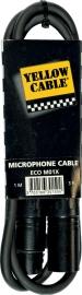 Yellow Cable - Xlr male/xlr female 1m