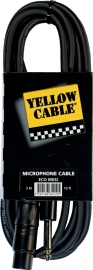Yellow Cable -  Jack mono male/xlr female 3m