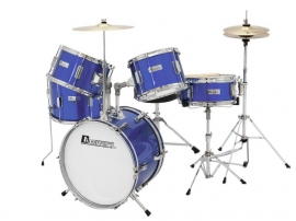 DIMAVERY JDS-305 Kids Drum Set, blauw