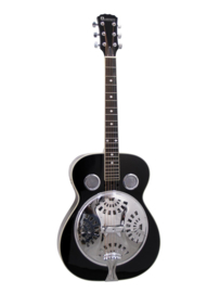 DIMAVERY RS-310 Resonator gitaar zwart