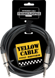 Yellow Cable - Neutrik - Jack/jack-  3 meter