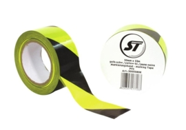 Marking tape PVC yellow/bl