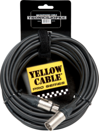 Yellow Cable - Neutrik - Xlr male - Xlr female - 10 meter