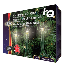 Kerstverlichting 100 LED 2.1 W 9420 mm Warm Wit Binnen
