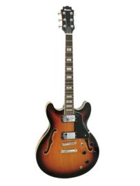 DIMAVERY SA-610 Jazzgitaar, sunburst