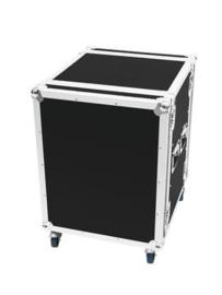 ROADINGER Amplifier Rack PR-2, 14U, 47cm, wielen