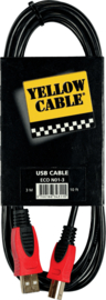 Yellow Cable - USB kabel 3 M