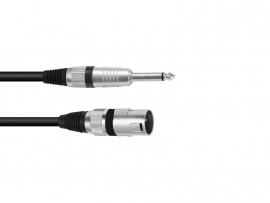 OMNITRONIC Adaptercable XLR(M)/Jack mono 5m bk