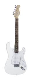 DIMAVERY ST-203 E-gitaar, wit