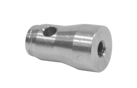 ALUTRUSS QUADLOCK Half Conical Coupler w. Thread