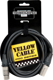 Yellow Cable -  Neutrik - Xlr male - Xlr female -  150 cm.