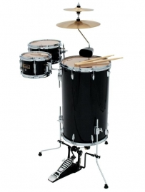 DIMAVERY CDS Cocktail Drum set, zwart