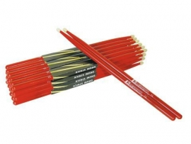 DIMAVERY DDS-5A Drumsticks, esdoorn, rood