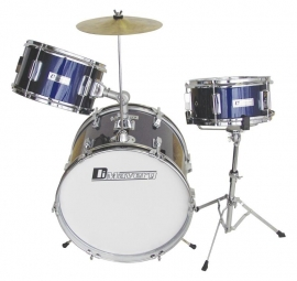 DIMAVERY JDS-203 Kids Drum Set, blauw