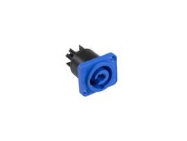 NEUTRIK PowerCon - chassis - NAC3MPA-1 (blauw)