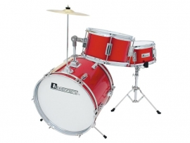 DIMAVERY JDS-203 Kids Drum Set, rood