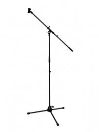 OMNITRONIC Microfoon statief met boom, PRO bk