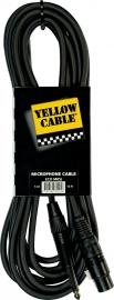 Yellow Cable - Jack mono male/xlr female 5m