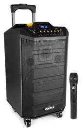 VPS10 Mobiel geluidssysteem  10 inch. met  BT
