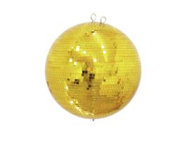 EUROLITE Mirror Ball 40cm goud