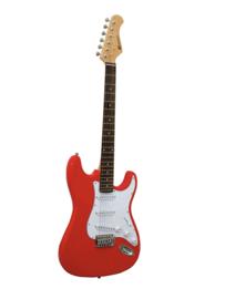 DIMAVERY ST-203 E-Guitar, rood