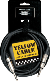 Yellow Cable - ECO HP015 Neutrik - Jack/jack 1,5m neutrik