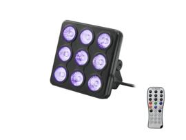 EUROLITE LED-partypaneel RGB + UV