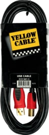 Yellow Cable - USB kabel - 5 M