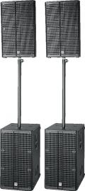 HK Audio - L5PACK-CLUB 2 Volledige actieve systemen - Voor 200-300 pers.