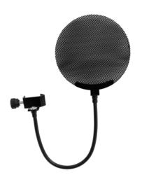 OMNITRONIC Microfoon-Pop Filter metaal, zwart