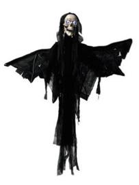 EUROPALMS Halloween figure Angel, animated 165cm