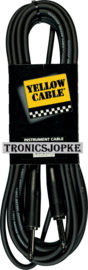 Yellow Cable  - jack  / jack - 6 meter