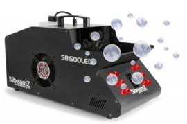 BeamZSB1500LED Rook- & Bellenblaasmachine RGB LED's