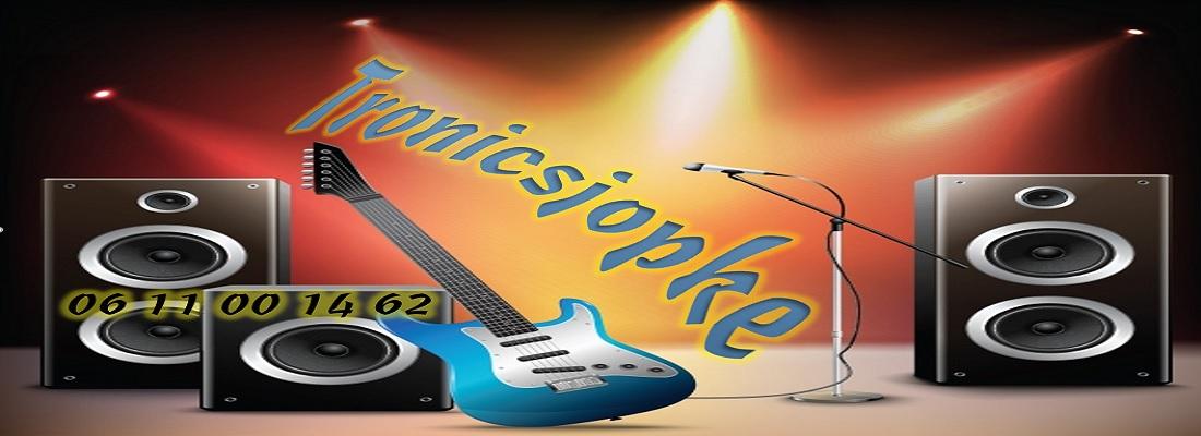Tronicsjopke- online muziekwinkel voor evenementen techniek.
