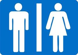 Kunststof bord - toilet