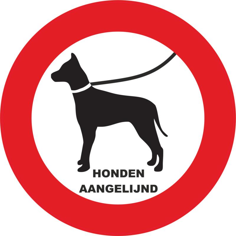 honden aan de lijn