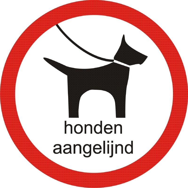HONDEN AANGELIJND sticker
