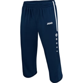 3/4 tracksuit bottoms active marine/white