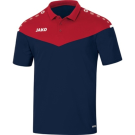 JAKO Polo Champ 2.0 chilirouge-marine  6320/91