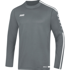 JAKO Sweater Striker 2.0 steengrijs-wit 8819/40