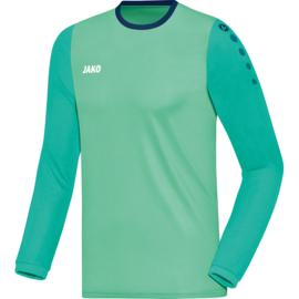 JAKO Shirt Leeds LM munt-smaragd-navy 4317/24