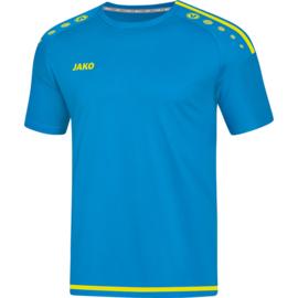 JAKO T-shirt Striker jakoblauw-fluogeel 4219/89