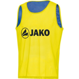 JAKO Omkeerbare overgooier geel-blauw 2618/03 (NEW)