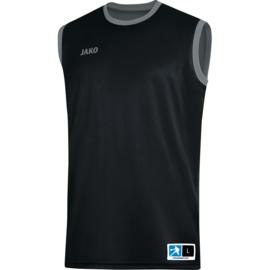 JAKO Reversible shirt Change 2.0 zwart-steengrijs 4151/08
