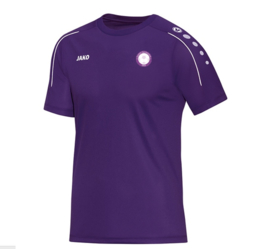 T-shirt classico paars (met clublogo RAMSDONK) (6150/10)