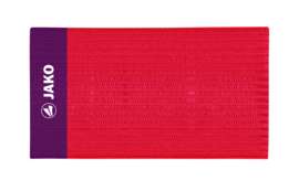 JAKO Brassard de capitaine Classico rouge 2808/01