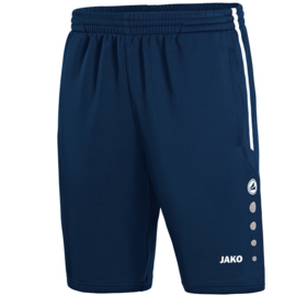 JAKO Trainingsshort Active marine-wit 8595/09