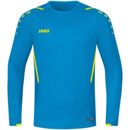 JAKO Sweater Challenge jakoblauw/fluogeel  (8821/443)